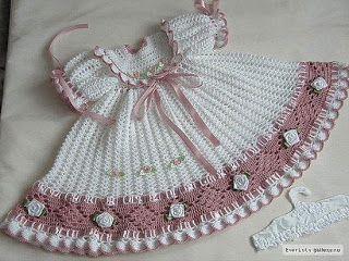 ANTONIA OF DRESSES CROCHET CROCHET BABY