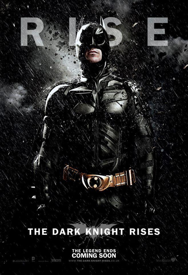 El caballero oscuro: la leyenda renace: seis nuevos pósters