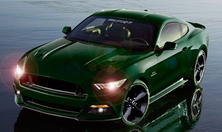 Elegant Mustang Green 2015