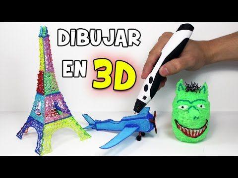 Como Dibujar En El Aire Lapiz 3d Merece La Pena Experimentos Caseros Youtube Como Dibujar En 3d Boli 3d Como Dibujar