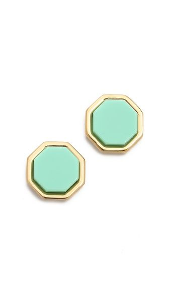 Octi Bolt Stud Earrings