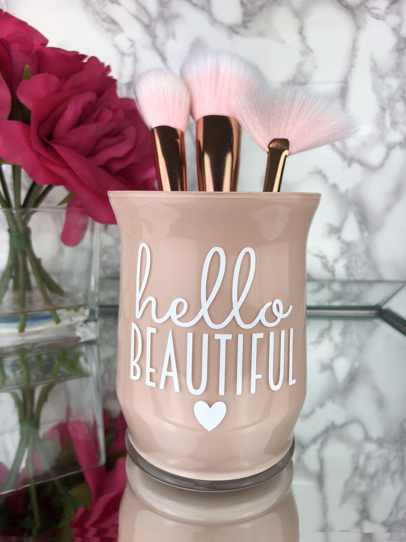 Makeup Brush Holder Makeup Artist Gift Makeup Vanity Girly