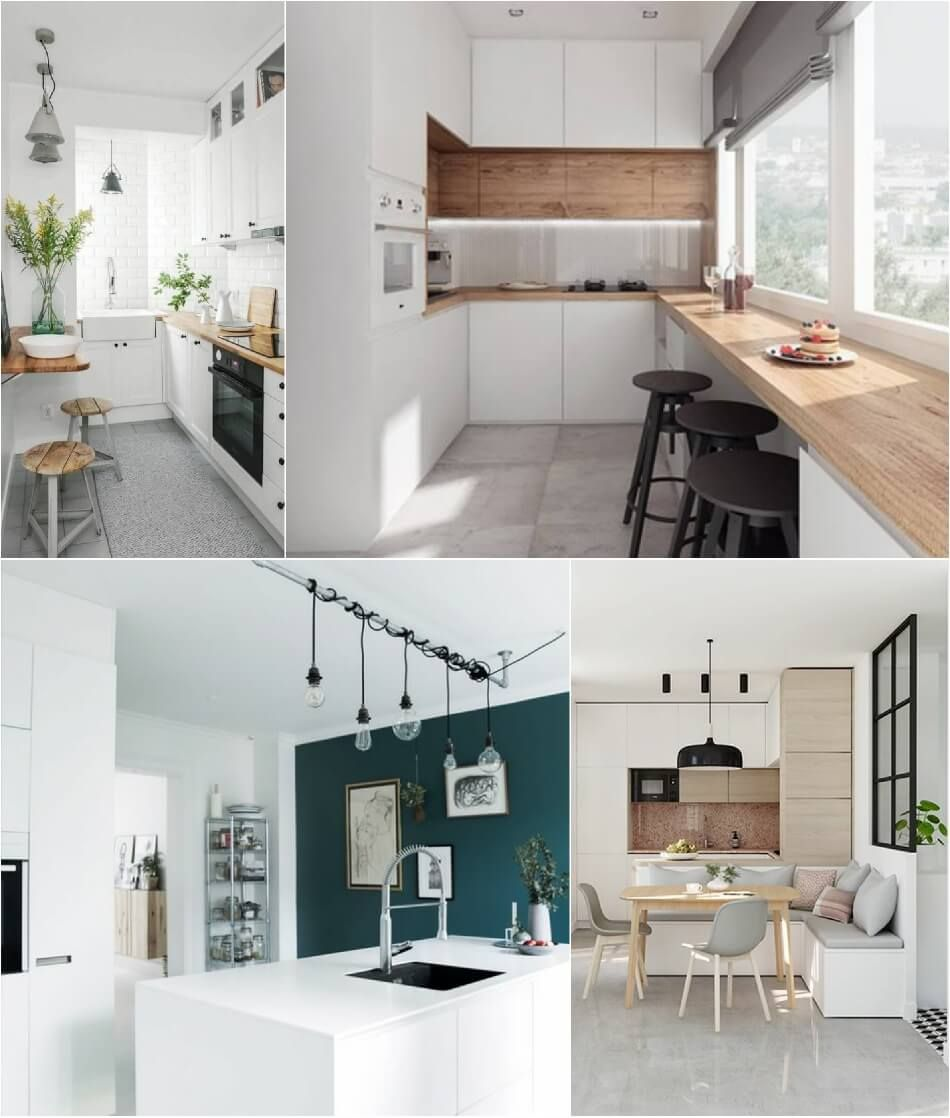 6 Modern Small Kitchen Ideas That Will Give A Big Impact On Your Daily Mood Houseminds Small Kitchen Kitchen Design Small Kitchen Seating