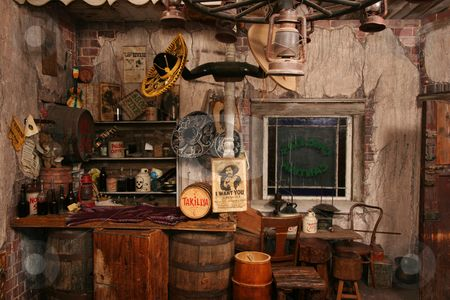 Beautiful old west interior in 2019 | Western saloon ...