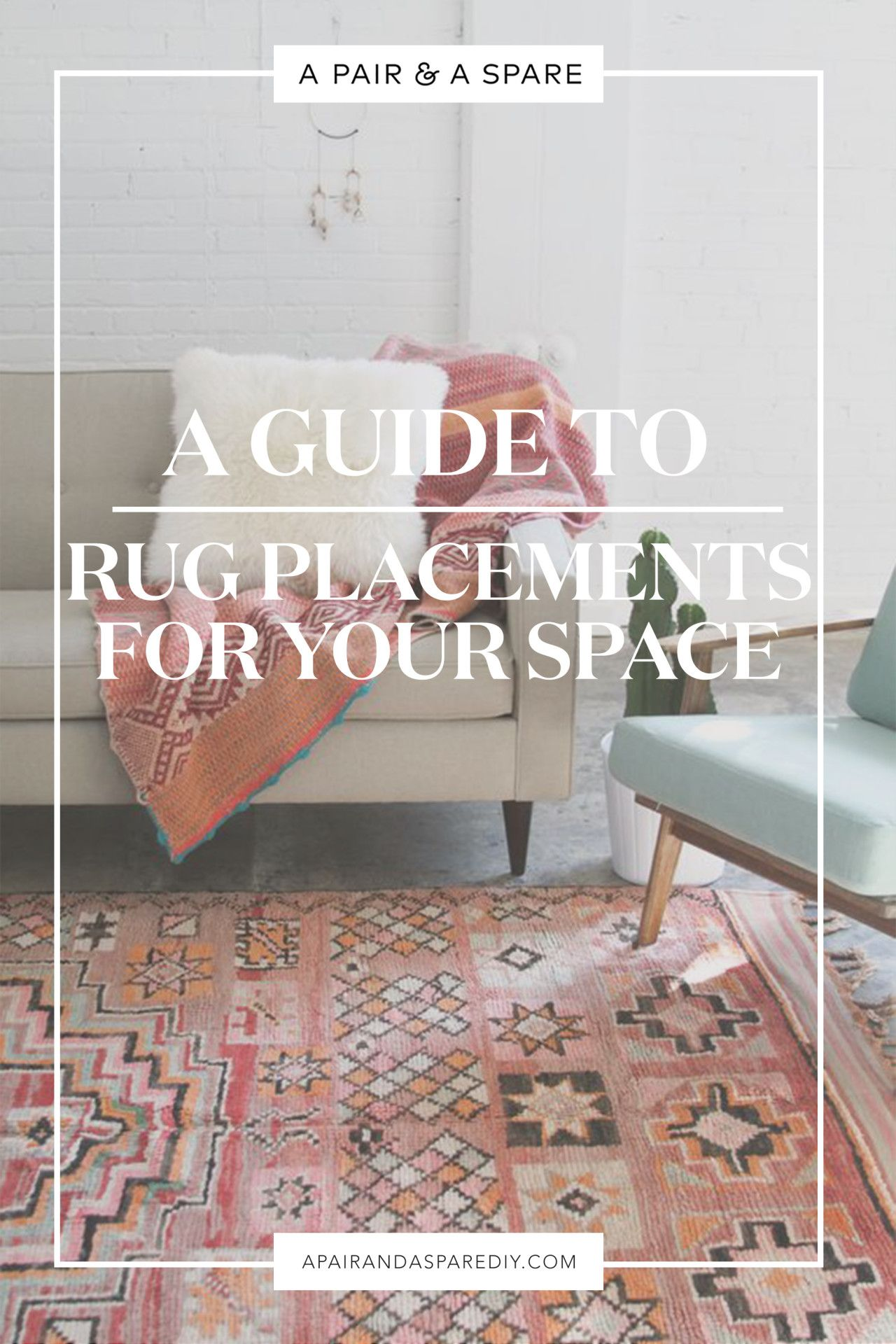 A guide to the perfect rug placement for your space rug