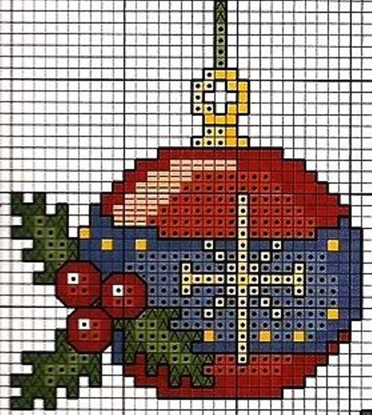 tarjetas de muestreo de festivo Robin corona Vela Navidad Tabla De Punto De Cruz X9