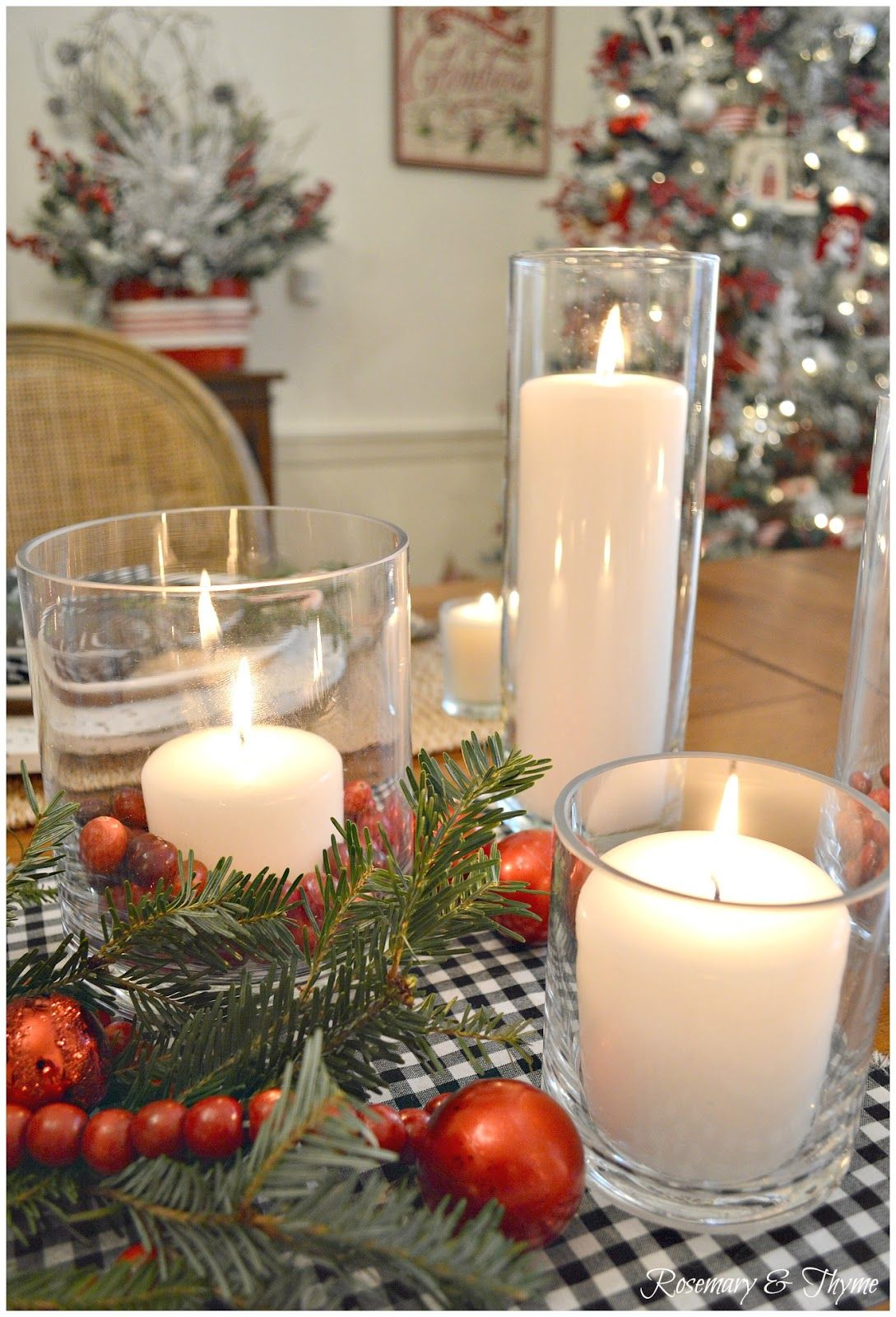 red truck red pickup tablesetting tablescape pier1 farmstyle countrystyle country christmas holiday