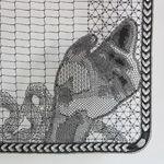 Pierre Fouche, bobin lace portrait (detail)