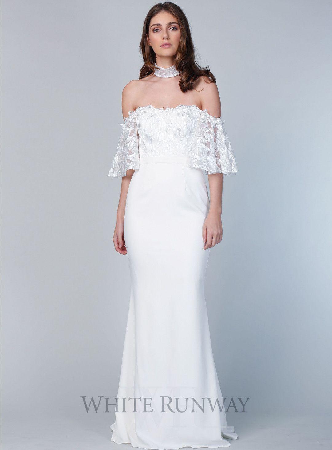 Azalea off shoulder gown stylish gowns pinterest gowns