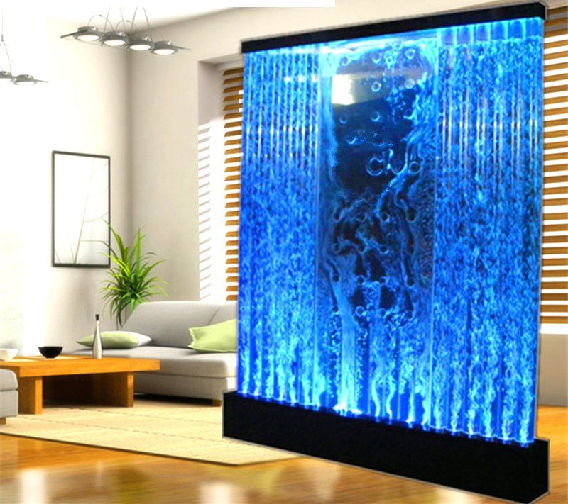 Huge 6 5 X 6 5 Led Full Color Bubble Wall Water Fountain Panel