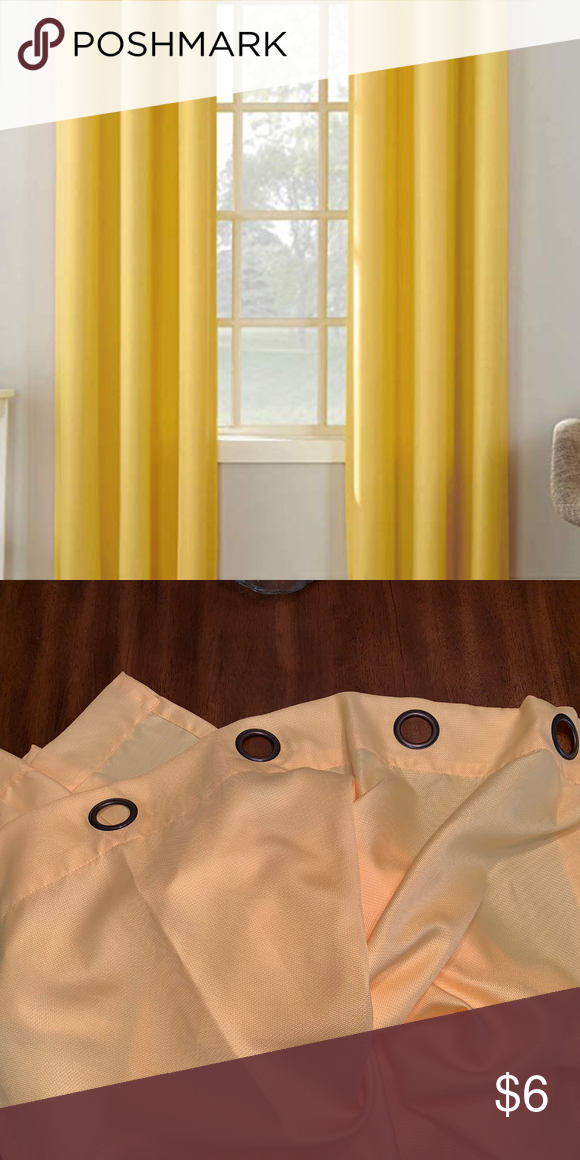 Like New Sunny Cheerful Curtains 2 Panels 48 X84 In 2020 Grommet Curtains Curtains Panel Curtains