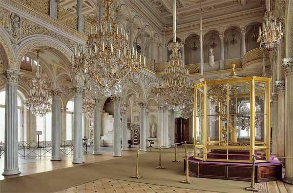 Павильонный зал Малого Эрмитажа: