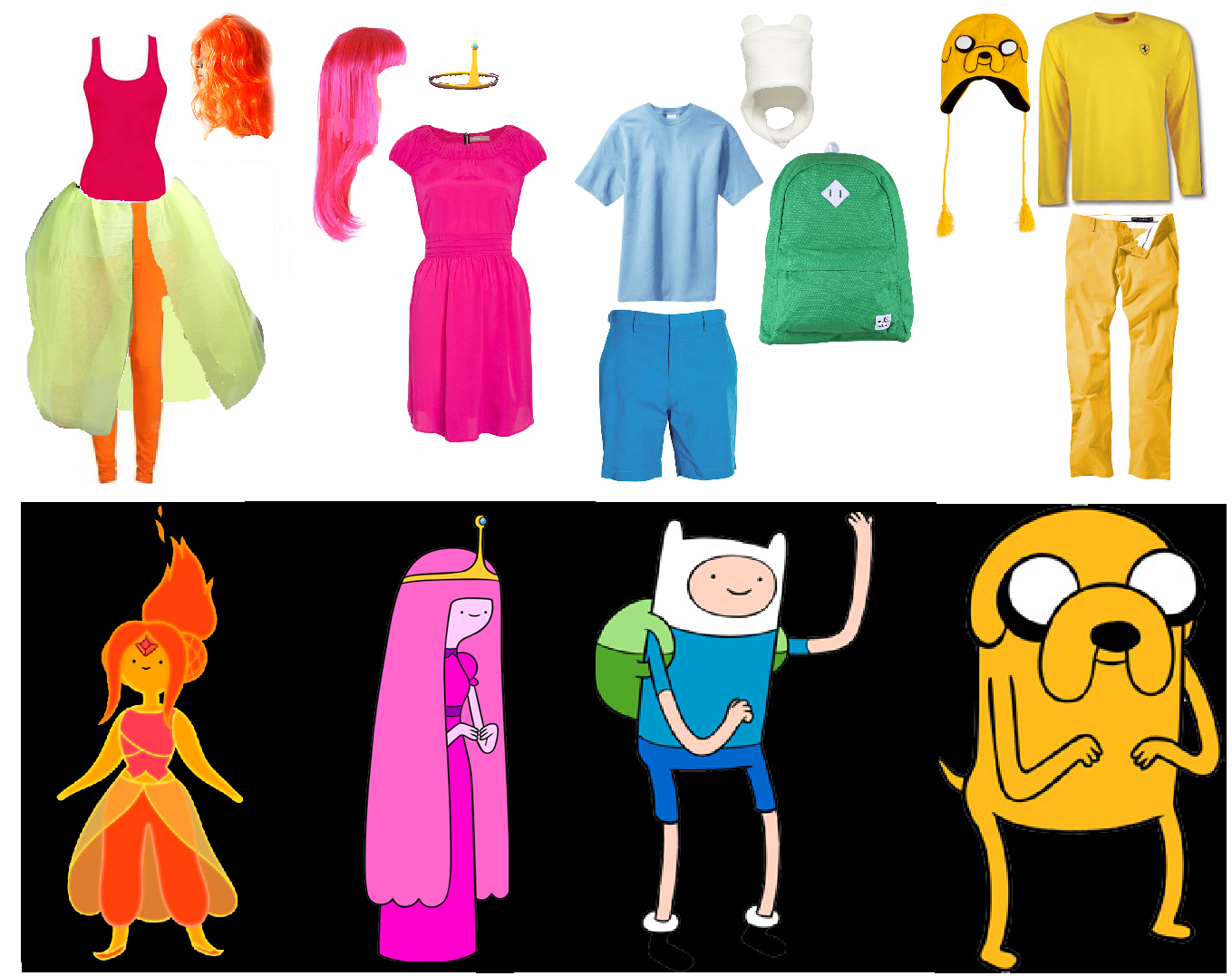 DIY Adventure Time Costumes  sc 1 st  Pinterest & DIY Adventure Time Costumes | kid stuff | Pinterest | Adventure time ...