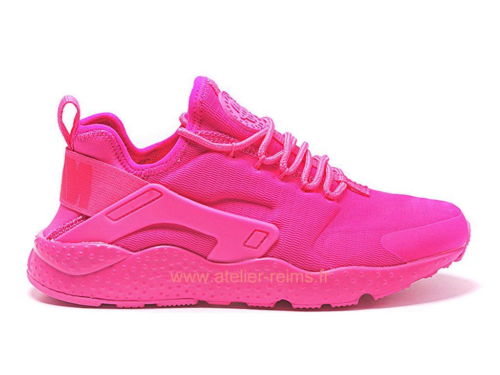 best sneakers a69d5 77353 Nike Wmns Air Huarache Ultra Boutique Officiel Chaussures Pour Femme Rose  pourpre 2019 818061 A104-nike
