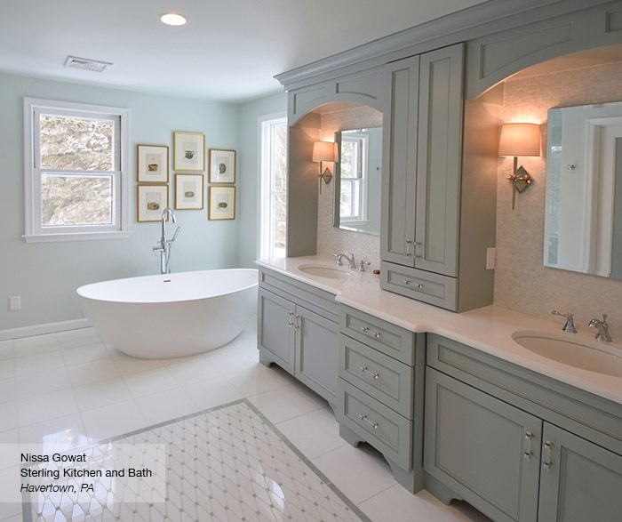 Be Captivated By The Serenity And Bliss Of Brentwood Master Bath - Bathroom remodeling havertown pa
