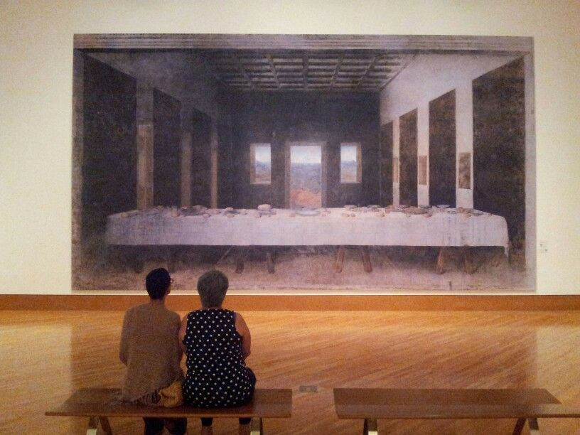 The Last Supper without people. | My Art Scene | Pinterest