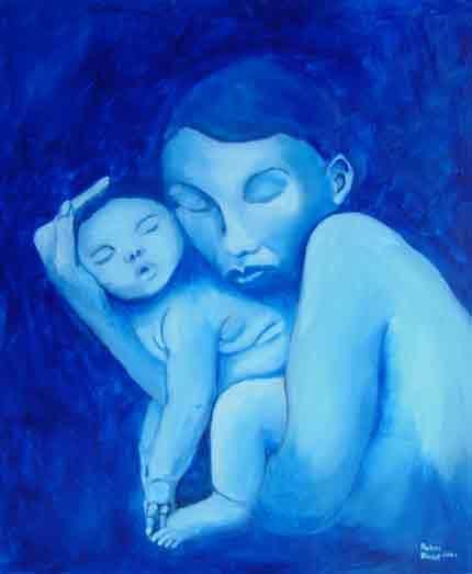 Pablo Picasso Blue Period 44