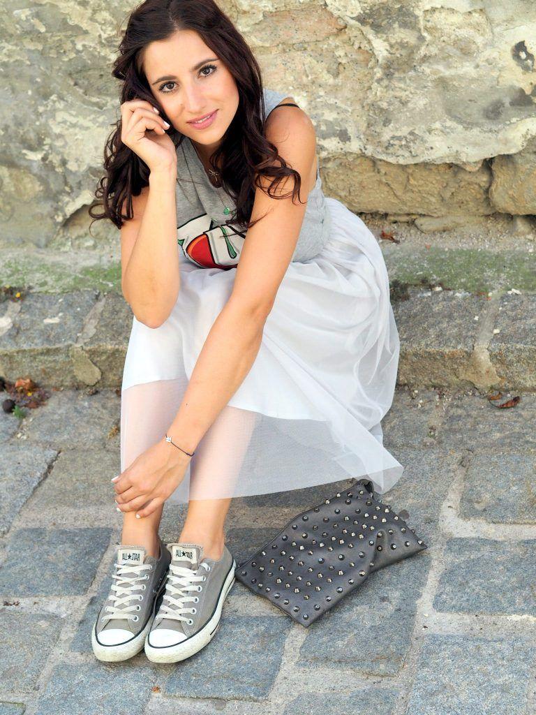 Outfit : Must Have Tüllrock - Highheels & Snapbacks