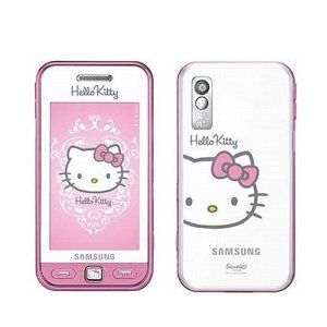 e0ba63534 Hello Kitty Limited Edition Samsung S5230 Unlocked GSM Cell Phone with 3MP  Camera, MP3 Player, FM radio, Touch Screen, Bluetooth, HTML browser and  MicroSD ...