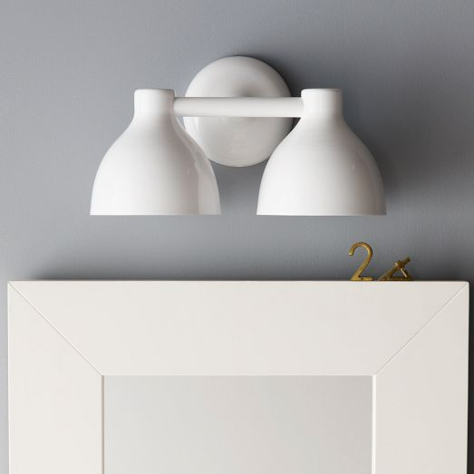 Contour double sconce kid bathrooms lights and remodel bathroom contour double sconce aloadofball Gallery