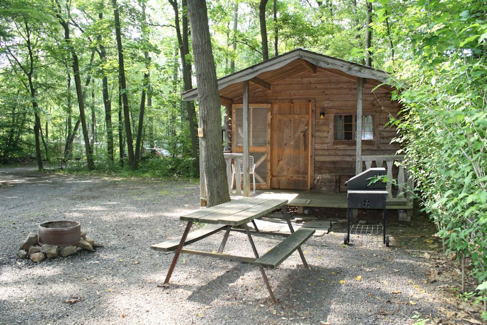 Ringing Rocks Family Campground Rates Policies Rock Family Outdoor Spaces Cabin Rentals