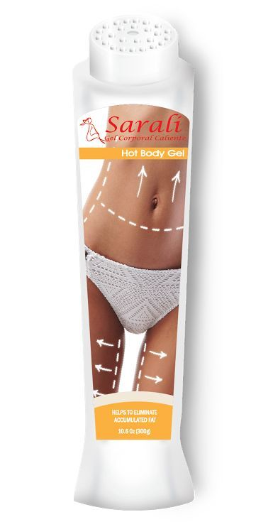 Hot Body Gel Reduces Accumulated Fat Gel Corporal Caliente Quemagrasa