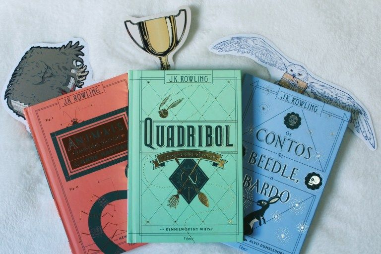 Livros Extras De Harry Potter J K Rowling Harry Potter