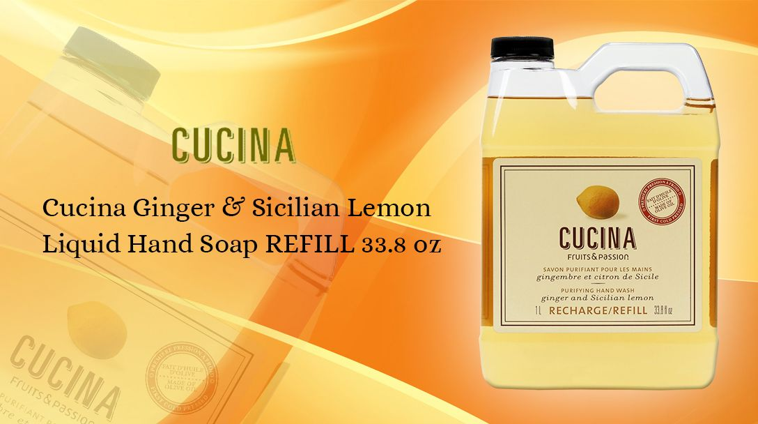Buy one of our #BestSeller product #Cucina Ginger & Sicilian Lemon ...