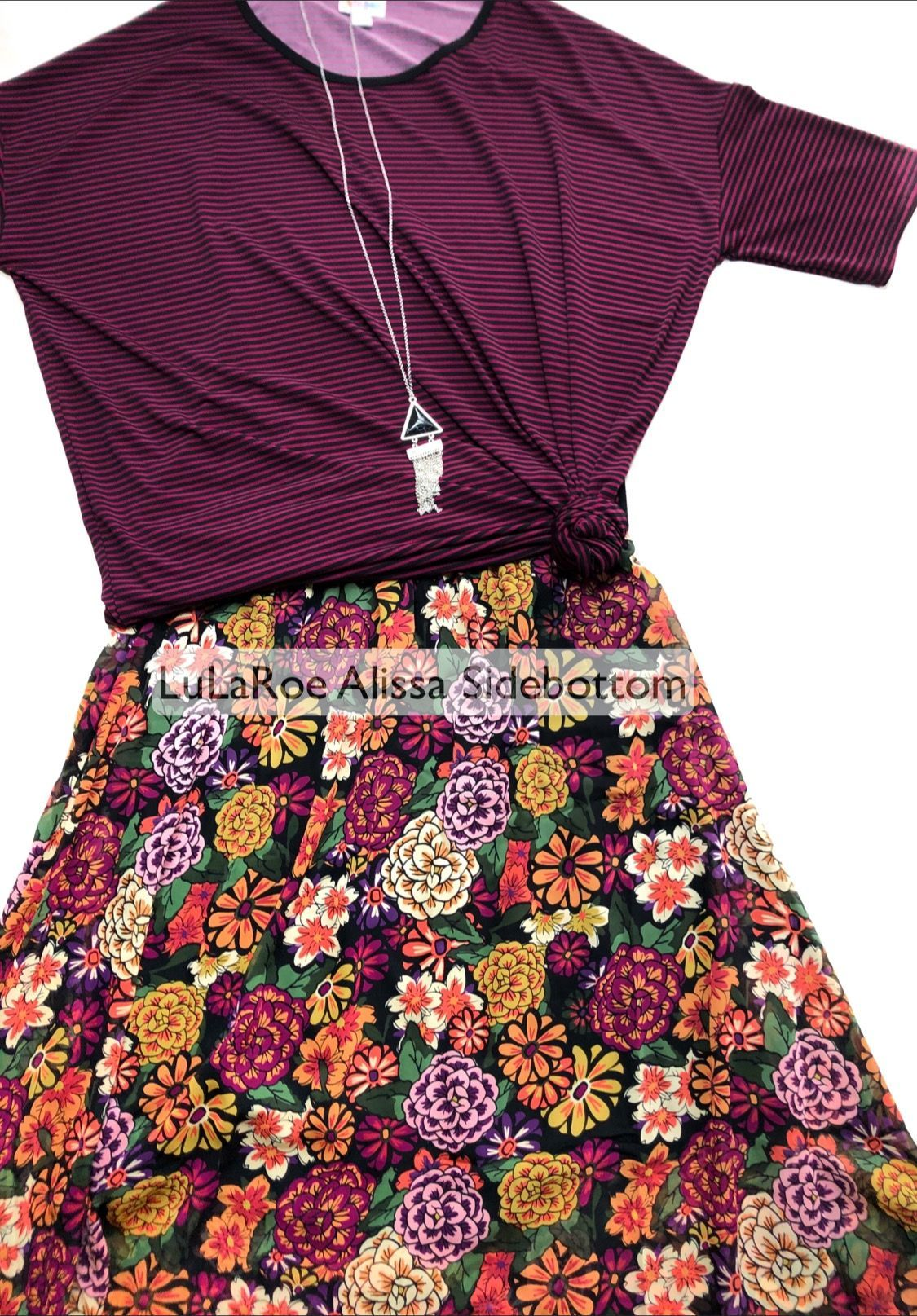 Spring Is Here And This Floral Lularoe Chiffon Lola Skirt Is