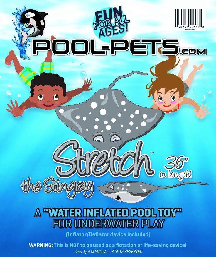 Pool Pets - Stretch the Stingray