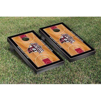 Victory Tailgate Ncaa Border Basketball Version Cornhole Game Set