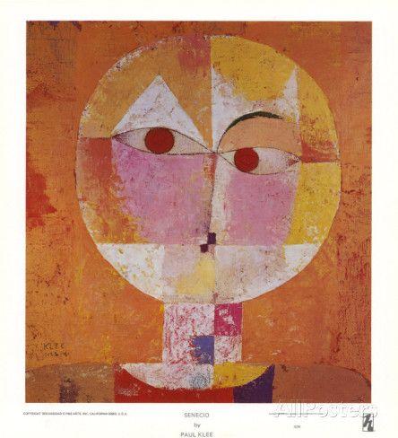 Senecio Art by Paul Klee at AllPosters.com