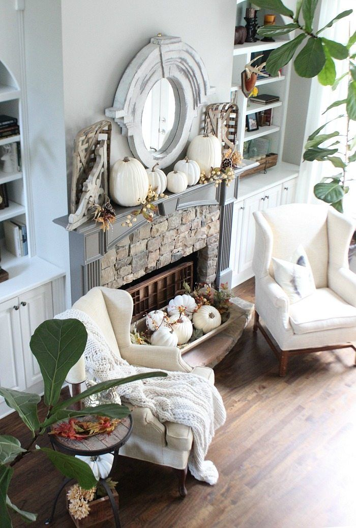 Decorating With Bowls Affordable Fall Home Decor Ideas  Dough Bowl Neutral And Bowls