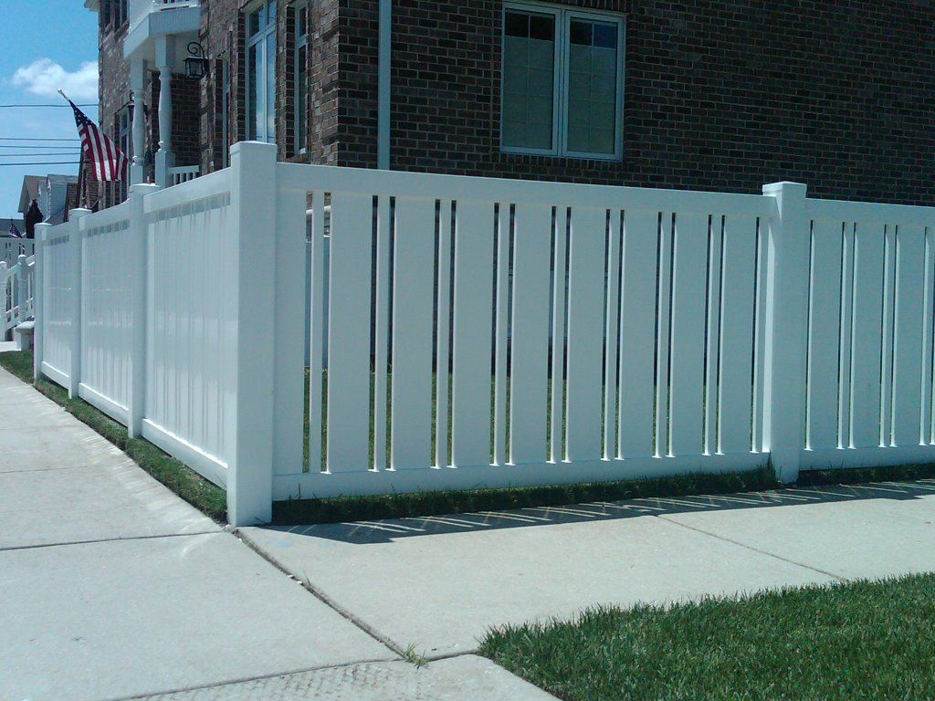 Anti Oxidation White Pvc Fence In 2019 Vinyl Fence
