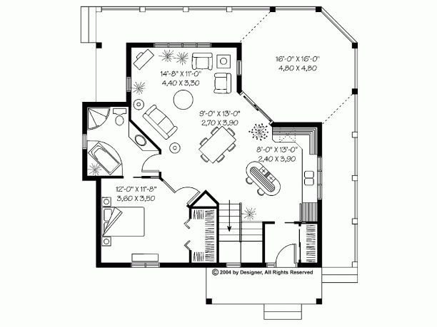 There Is Nothing More Covetable Than A Couple S First Home Together And What Better Way To Make It E Cabin House Plans House Floor Plans Tiny House Floor Plans