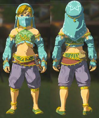Legend Of Zelda Breath Of The Wild Game Cosplay Link