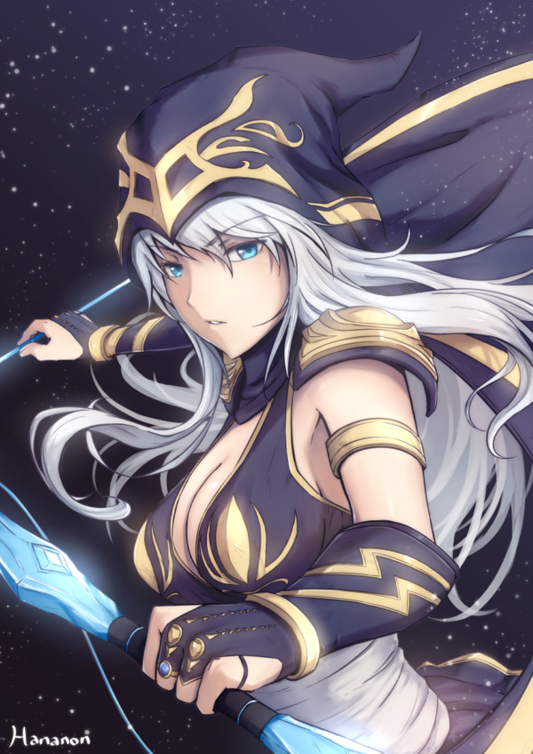 Ashe - League of Legends Fan Art | League of Legends ...