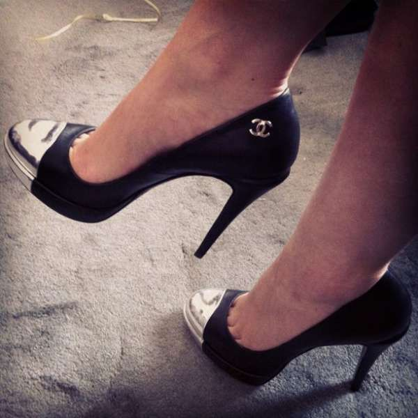 Heels, Chanel heels, Chanel shoes