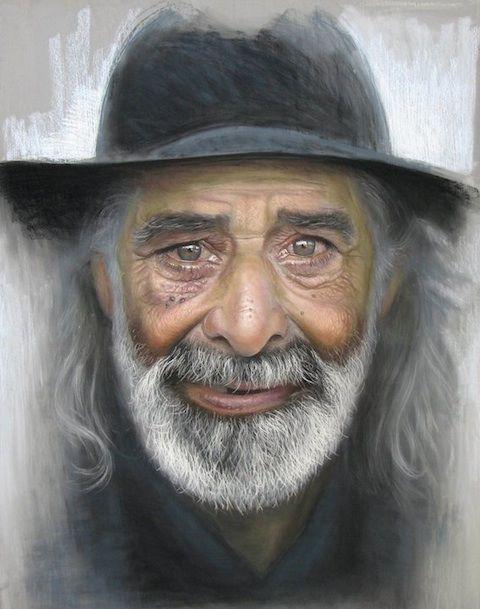 retrato ruben belloso