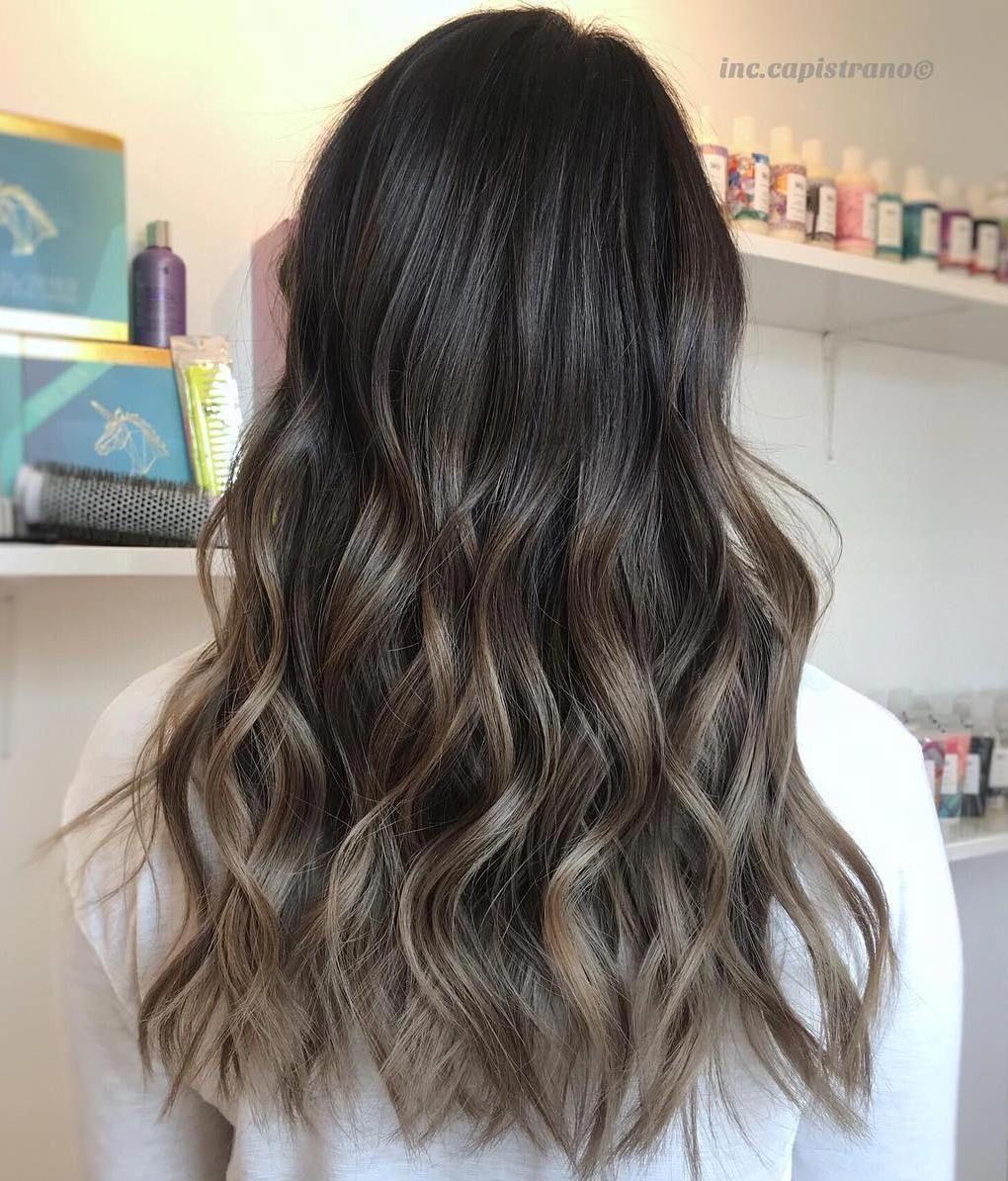 Mushroom Brown Hair A Hot New Trend You Ll Fall In Love With Mushroom Hair Ash Brown Hair Balayage Balayage Straight Hair