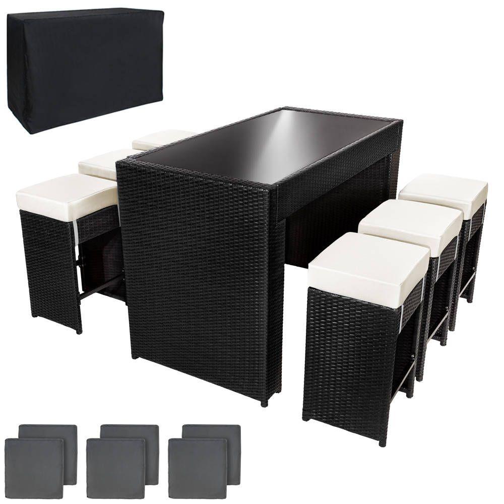 pin von tectake auf garten und heimwerken garten sitzgruppe und polyrattan. Black Bedroom Furniture Sets. Home Design Ideas