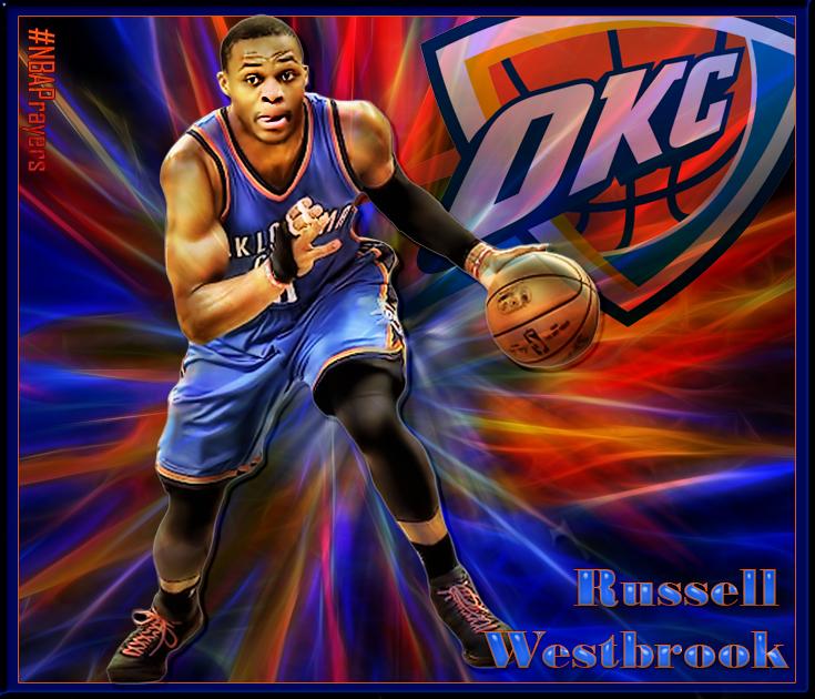 Nba Player Edit Russell Westbrook Okc Thunder Thunder Nba Thunder