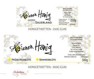 Visitenkarten Imker Honig Verkauf Imkerei Bienen Bienenhonig Bienenvölker Biene
