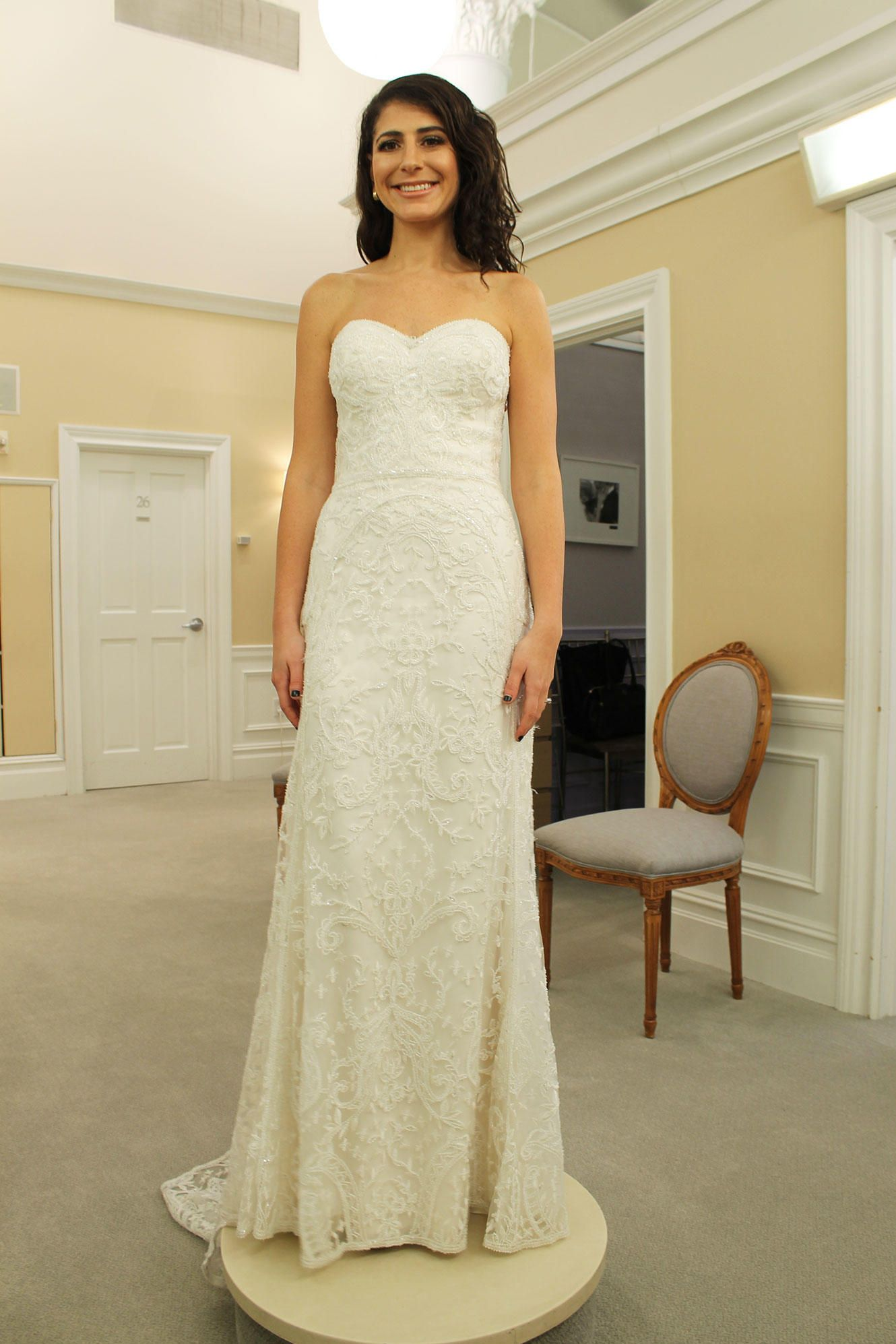 Strapless fitted lace wedding dresses  Say Yes to the Dress  Some Day My Prince Will Come  Pinterest