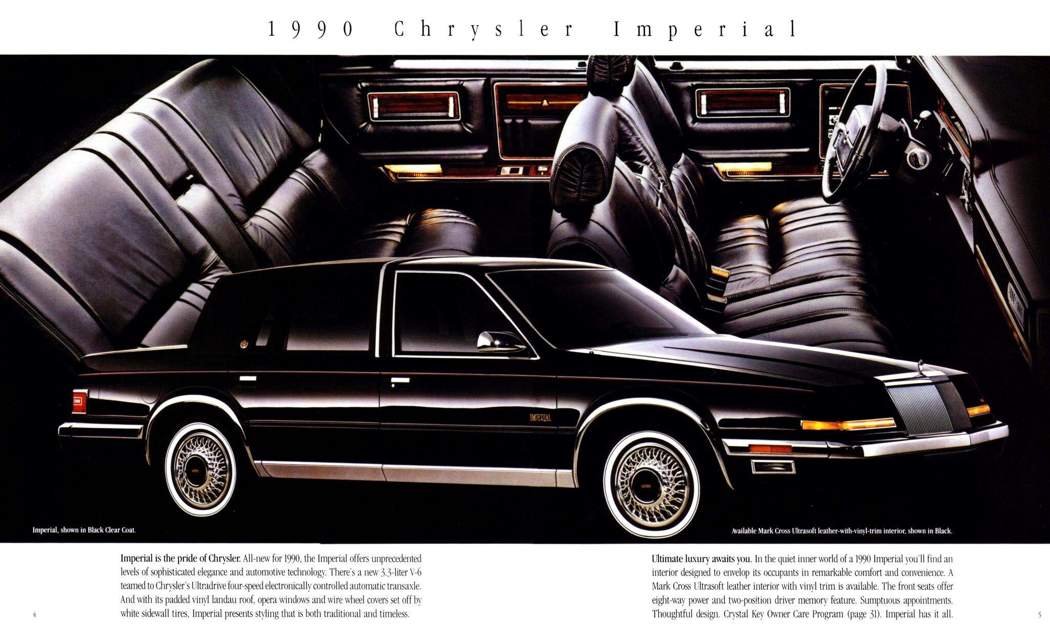 1990 Chrysler Ipmerial Chrysler Imperial Chrysler Imperial