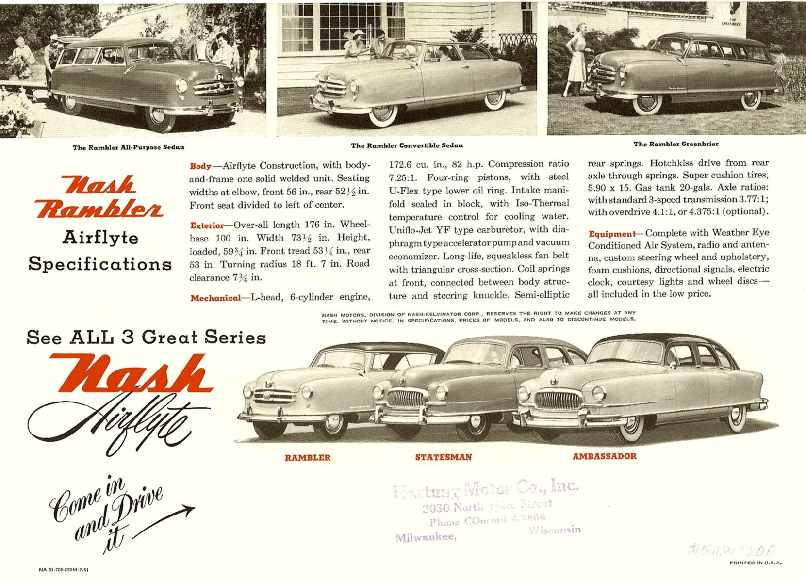1954 Nash Rambler | Nash Rambler Country Club: Photos, Reviews, News ...