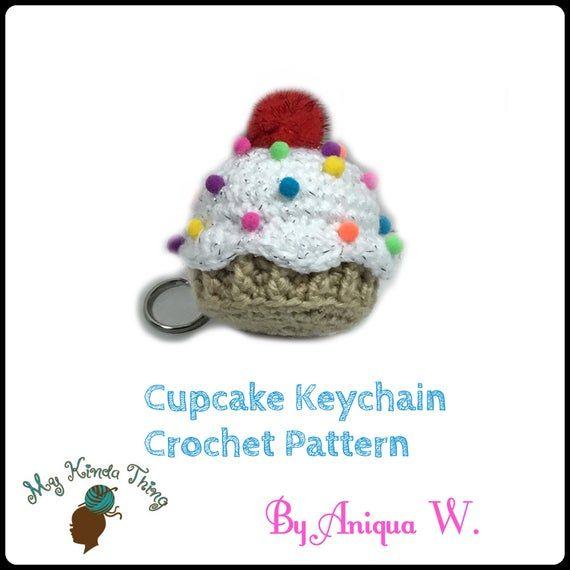 Crochet Cupcake Pattern #crochetbowpattern