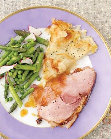 ❥ Easter dinner (click for recipes)