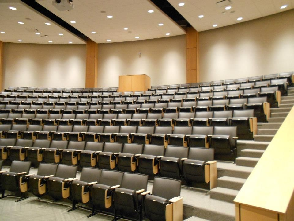 A Large Lecture Hall And Meeting Space Provides Space For