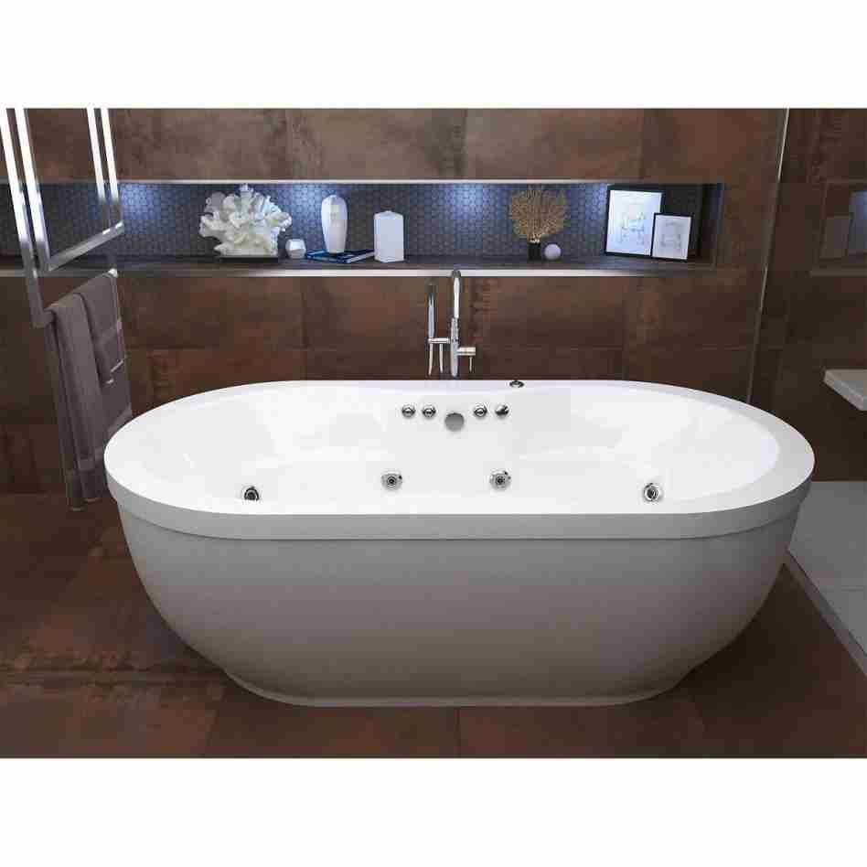 Freestanding Whirlpool Bathtubs With Images Jacuzzi Bathtub